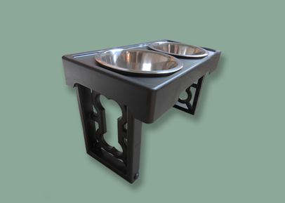 Multi-Height Dog Bowl